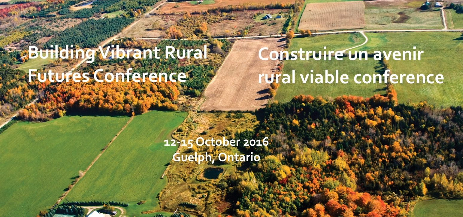 Guelph 2016 crrf rplc rural conference for Best rural places to live in california